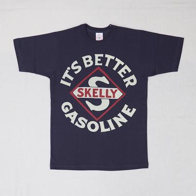 """ブートレガーズ Tシャツ """"SKELLY"""" FADE NAVY Youth M"""