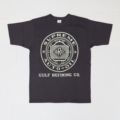 "ブートレガーズ Tシャツ ""SUPREME AUTO OIL"" JET BLACK"