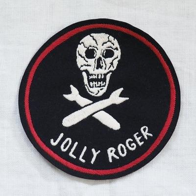 """フリーホイーラーズ カスタムパッチ """"JOLLY ROGER"""" サイズ:直径12cm"""