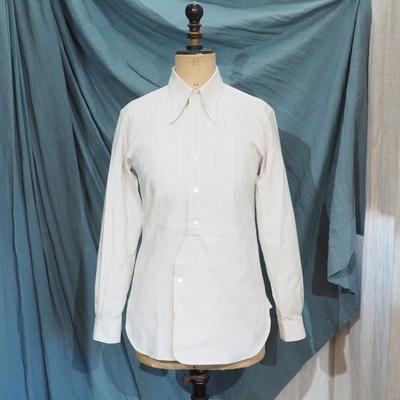 アジャスタブルコスチューム×フランボヤント アーチド ロングポイント カラー クラシックシャツ 2020