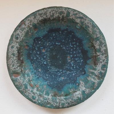 金澤尚宜 青の釉景 小皿(1)