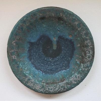 金澤尚宜 青の釉景 小皿(2)