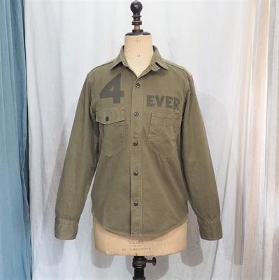 フリーホイーラーズ 4 バンガーズ フォーエバー 1930s スタイル ワークシャツ