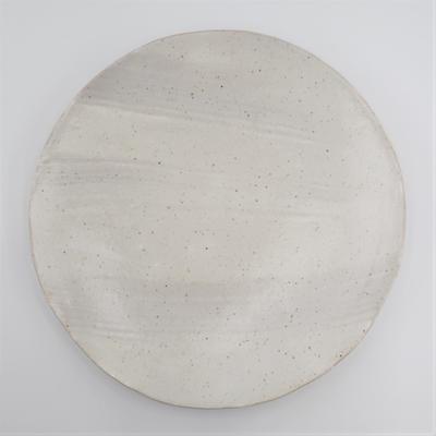 陶工房斿(ゆう) 白化粧大皿