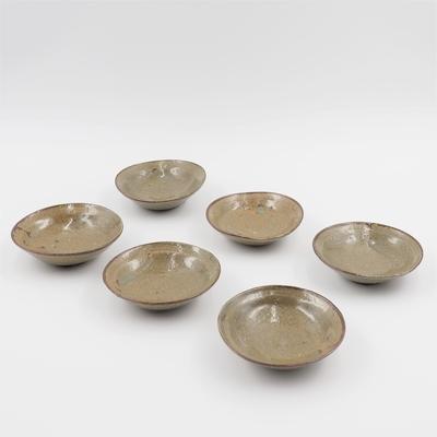 陶工房斿(ゆう) 緑釉小皿