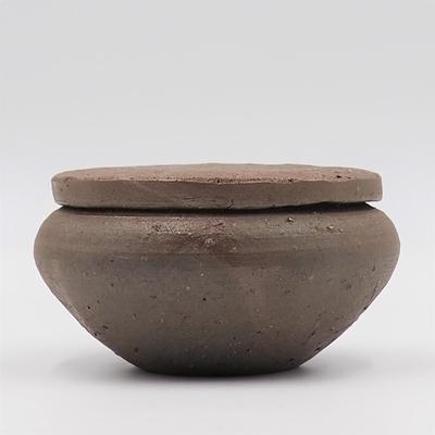 陶工房斿(ゆう) 伊部蓋付小壺