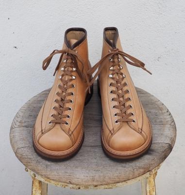 ダッパーズ クラシカル ラインマン ブーツ LOT103 ナチュラル
