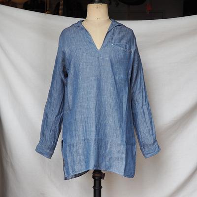 ジャンゴ アトゥール クラシック セーラー シャツ <AL> ブルー