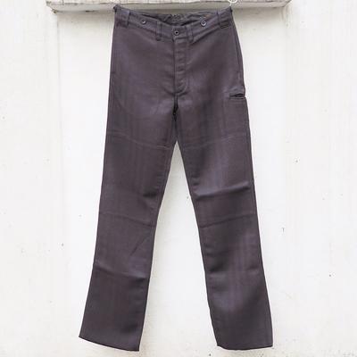 ジャンゴアトゥール コンティニュアス フライ ヘリンボーン パンツ<AL>  s/p charcoalblack Lサイズ