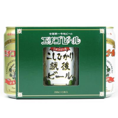 エチゴビール ベストセレクション 350ml缶 3本入