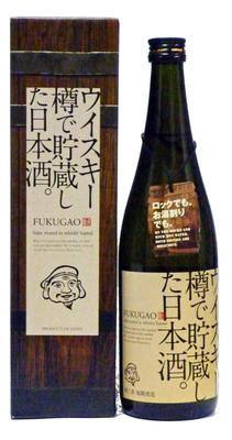 ウイスキー樽で貯蔵した日本酒。FUKUGAO(720ml)