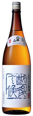 八海山 しぼりたて原酒 「越後で候」 青ラベル 1800ml