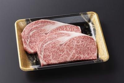 【20%OFF】小形牧場牛 ロースステーキ180g×2枚