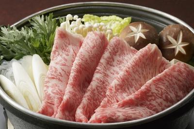 【限定特別価格】前沢牛サーロインすき焼き用400g