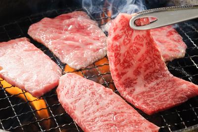 【限定特別価格】前沢牛ロース焼肉400g