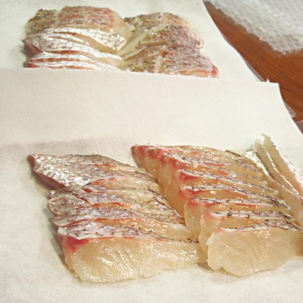 桜鯛の鯛しゃぶ