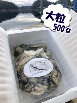 「水山牡蠣」【むき身、大粒、生食可】 500g