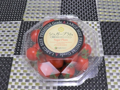 【最高級ミニトマト Aグレード】高糖度シュガープラム 350gパック