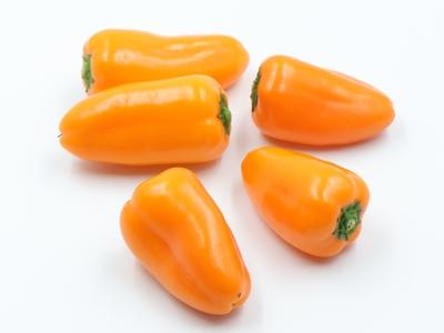 【国産ミニパプリカ】オレンジキャンディ150g×3袋セット