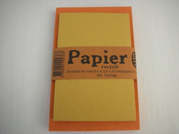 カード(イエロー)&封筒(オレンジ)-5C