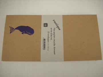 封筒 Baleine(くじら)-F3