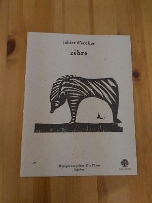 ノート zebra(シマウマ)