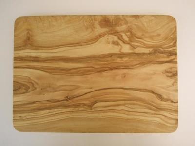 オリーブの木のまな板・長方形