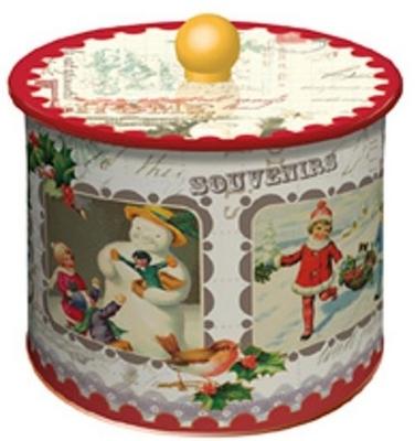 クリスマス★【 La Trinitaine/ラ・トリニテーヌ 】クリスマスギフト丸缶