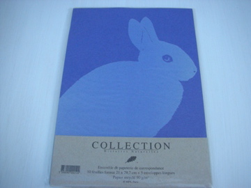 sold out レターセット Lapin -L4