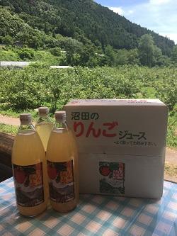 りんごジュース3本