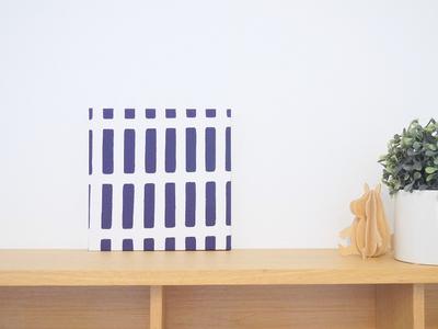 【既製品】アルテック シエナ/ブルー 18cm×18cmパネル