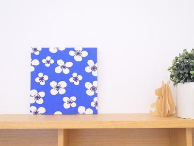 【既製品】アルメダールス ベラミ/ブルー 18cm×18cmパネル