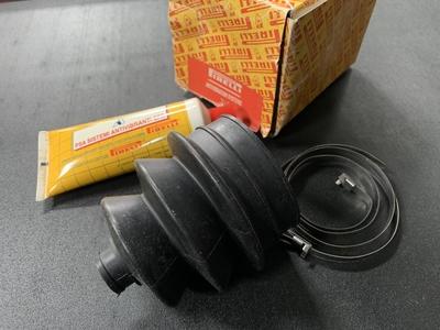【NOS】ドライブシャフトアウターブーツセット ドラム車用 PIRELLI