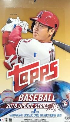 MLB 2018 Topps Update Hobby Box