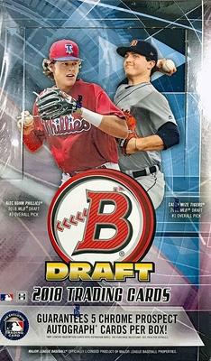 MLB 2018 Bowman Draft Super Jumbo