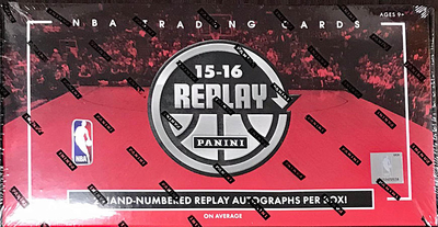 NBA 2015-16 Panini Replay