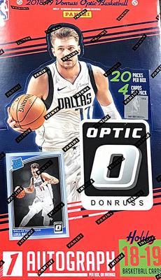 NBA 2018-19 Donruss Optic Hobby