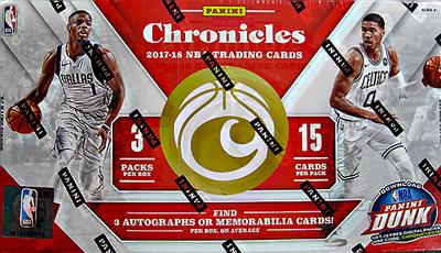 NBA 2017-18 Panini Chronicles