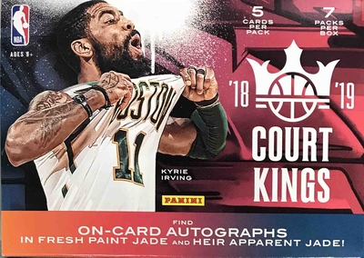 NBA 2018-19 Panini Court Kings Blaster