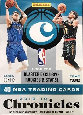 NBA 2018-19 Panini Chronicles Blaster