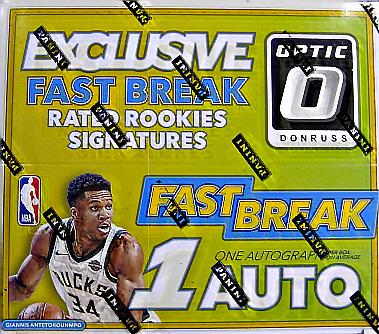 NBA 2017-18 Donruss Optic Fast Break