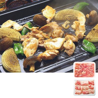オリーブ豚&オリーブ地鶏焼肉セット