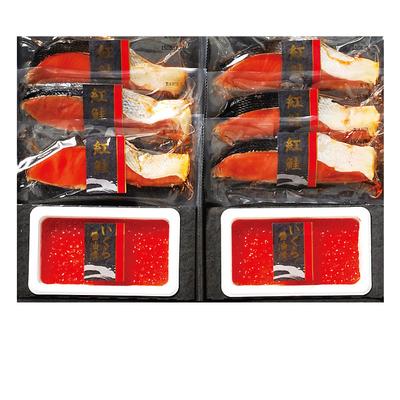 紅鮭切身・いくら正油漬