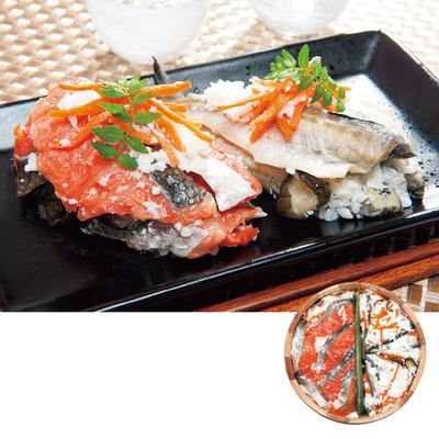 飯寿司詰合せ 紅鮭・はたはた