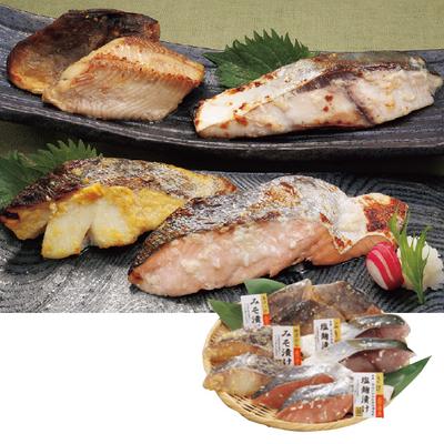北海道産 北の漬け魚4種詰合せ