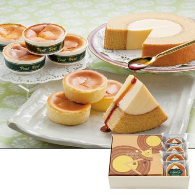 ぷりんバーム&半熟チーズケーキ