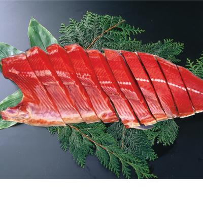 紅鮭切身 姿造り半身分(無頭)