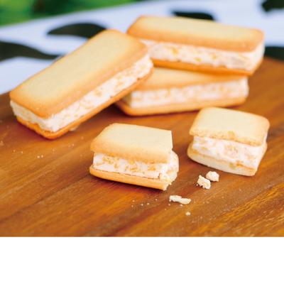 大山ソフトクリームサンドクッキー