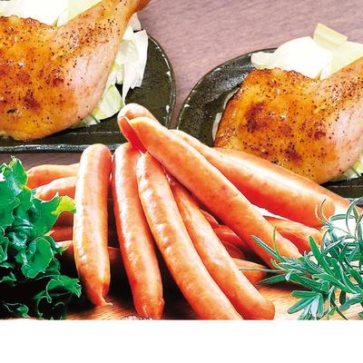 骨付鶏&オリーブ地鶏ウインナー詰合せ