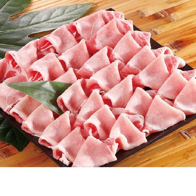 鹿児島県産黒豚ロースすき焼き